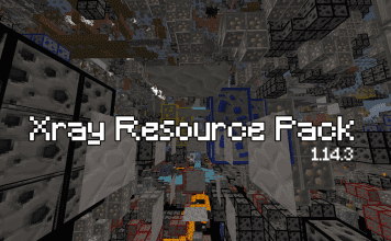 Xray Resource Pack 1.14.3 - 1.14.2 - 1.14.1 - 1.14