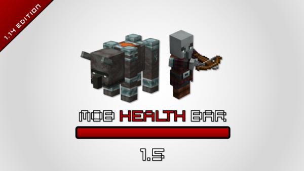 Mob Health Bar 1.14.4