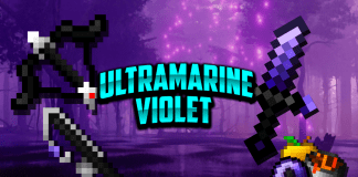 Ultramarine Violet 1.14.4 - 1.8.9 - 1.8 16x FPS Pvp Pack