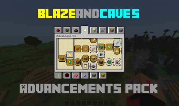 BlazeandCave's Advancements Pack 1.14.4