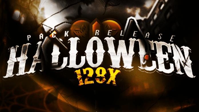 Halloween 128x PvP Texture Pack 1.8.9 / 1.8