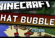 Minecraft Chat Bubbles 1.14 - MAIN