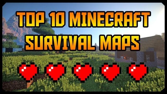 Top 10 Minecraft Survival Maps