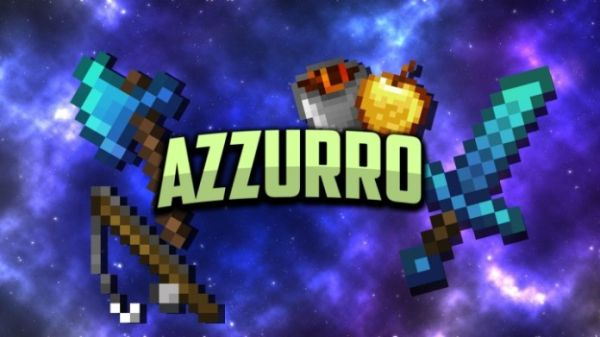 Azzurro 1.14.4 16x PvP UHC Minecraft Texture Packs - MAIN