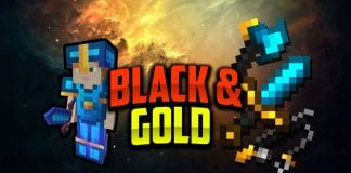 Black & Gold 16x Revamp FPS PvP Texture Pack 1.8.9 - 1.8