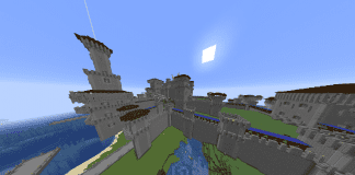 Minecraft Castle - Aacumenunan Ramparts - 1