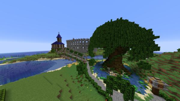 Minecraft Castle - Castle and Gladiator Arena - 2