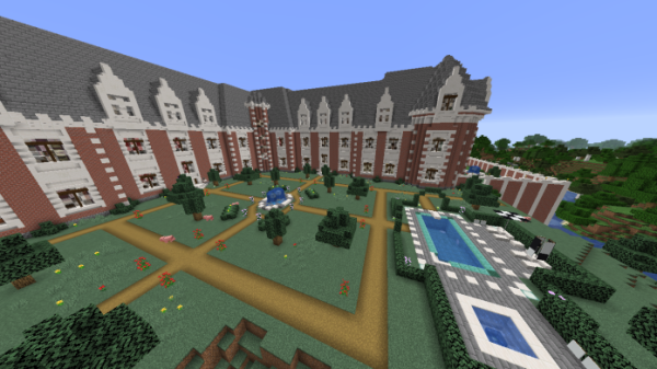 Minecraft Castle - French Chateau - 3