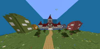 Minecraft Castle Super Mario Peach's Castle - 1