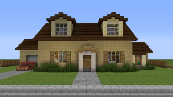 Minecraft House - 21 Spooner Street 1