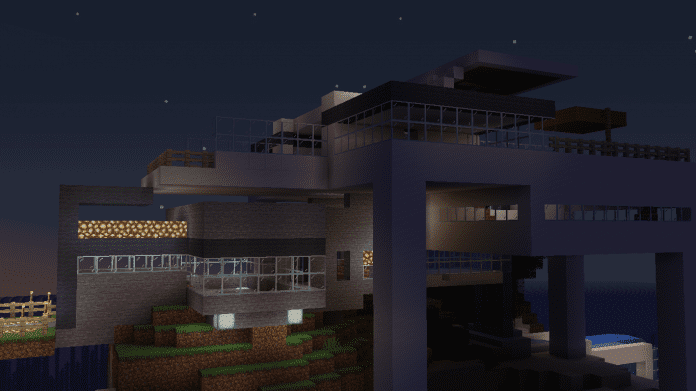 Minecraft House - Island House 1