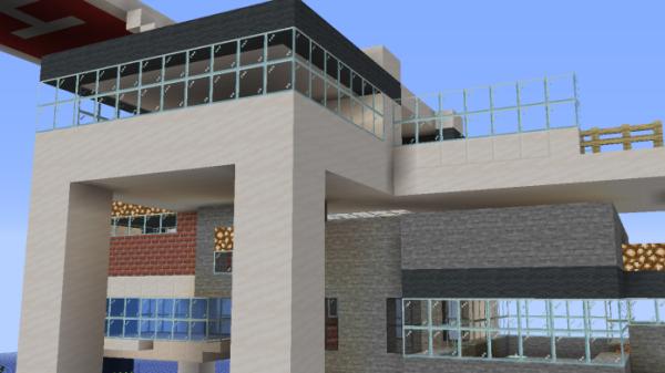 Minecraft House - Island House 3
