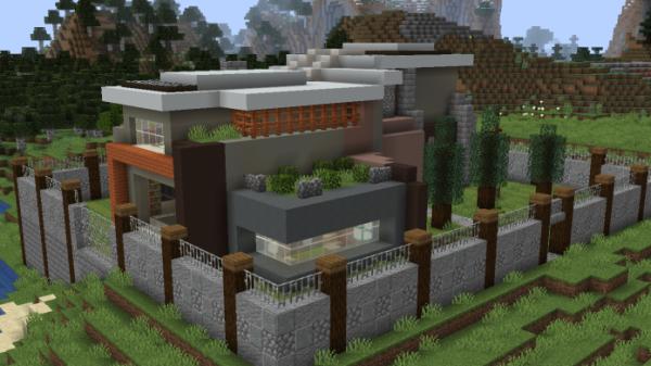 Minecraft House - Small Modern House 1