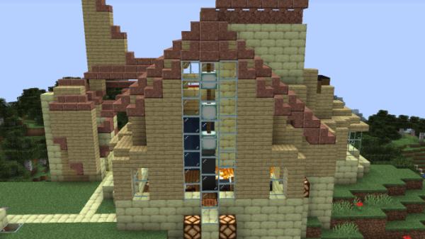 Minecraft House - Modern Mountain 3