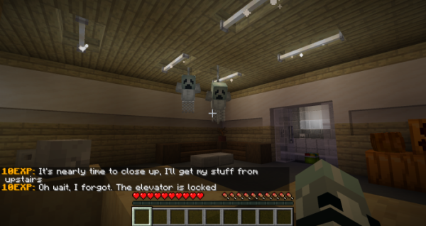 Night Shift On Halloween - Minecrft Horror Map - 1