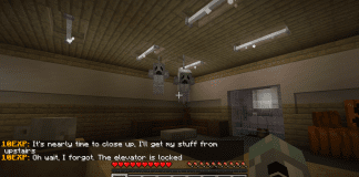 Night Shift On Halloween - Minecraft Horror Map - 1