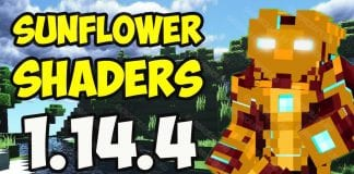 Sunflower Shaders 1.14.4 - main