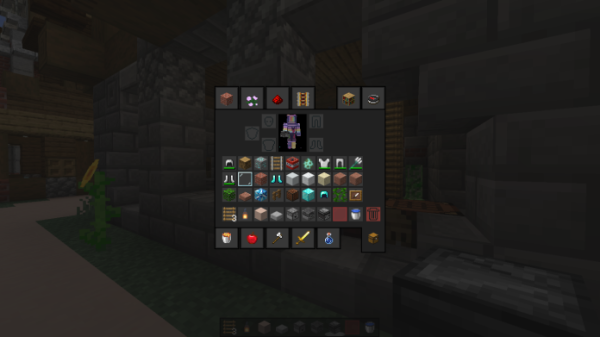 Dark Modern GUIs Resource Pack 1.15 16x - 3