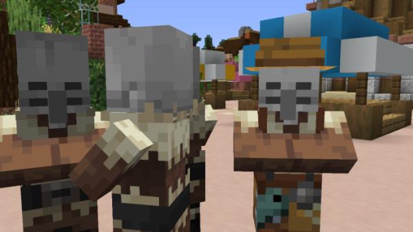 Spooky Skelly Villager Pack 1.15 - 3