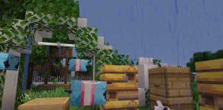 Trans Bees for Faithful 1.15.1 Resource Pack - 1