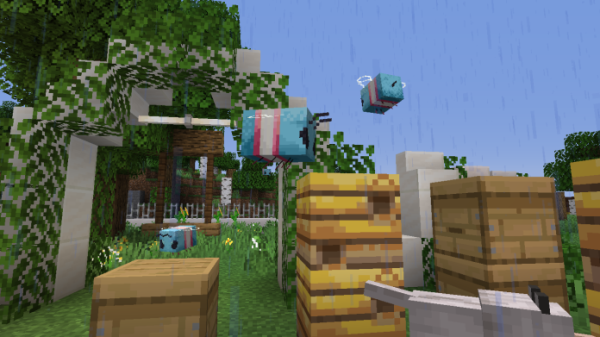 Trans Bees for Faithful 1.15.1 Resource Pack - 2