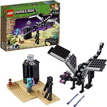 LEGO Minecraft The End Battle 21151 Ender Dragon Building Kit - Best Minecraft Toys 2020