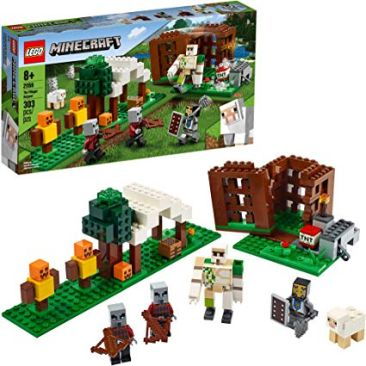 LEGO Minecraft The Pillager Outpost 21159 Building Kit - Best Minecraft Toys 2020