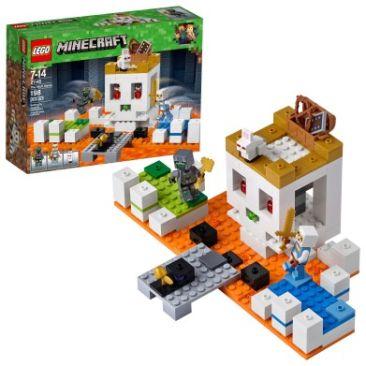 LEGO Minecraft The Skull Arena 21145 Building Kit - Best Minecraft Toys 2020