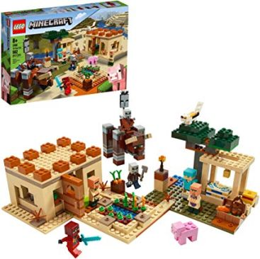 LEGO Minecraft The Villager Raid 21160 Building Toy Action Playset - Best Minecraft Toys 2020