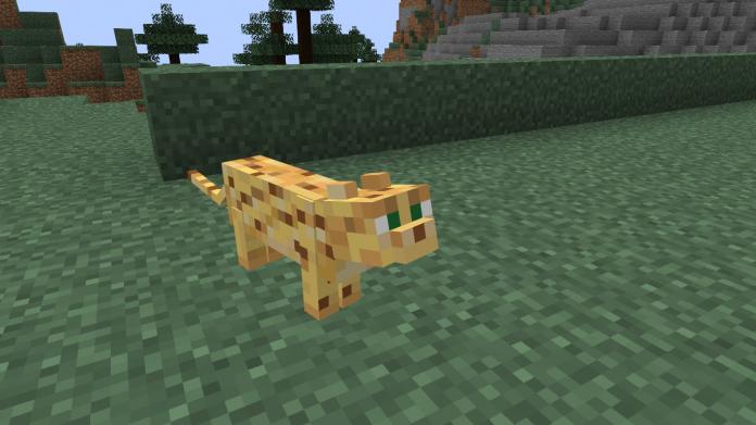 Minecraft Ocelot - 1