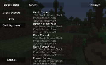 Nature's Compass Mod 1.15.2 (Find any Biome) - 2