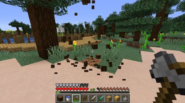 Treecapitator 1.15.2 Alternative Falling Tree Mod - 1