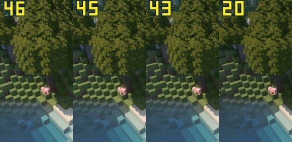 Minecraft Texture Packs 1.16 Pixel Size Difference