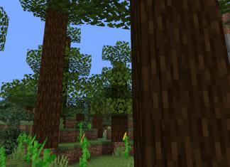 Round Trees 1.15.2 Minecraft Resource Pack - 1