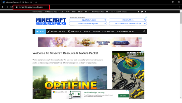 How to Download From Minecraft-resourcepacks - 1