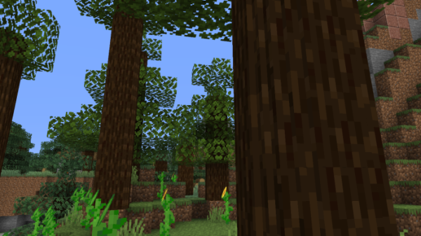 Round Trees 1.16 - Minecraft Texture Pack - 1