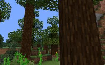 Round Trees 1.16 - Minecraft Texture Pack - 1
