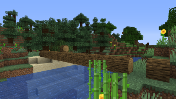 Round Trees 1.16 - Minecraft Texture Pack - 5