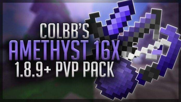 Colbb's Amethyst 16x FPS Boost PvP Texture Pack 1.8.9
