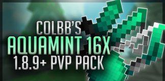 Colbb's Aqua Mint 16x PvP Texture Pack 1.8.9