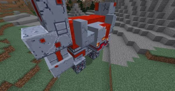 Redstone Monster Texture Pack 1.15.2 - Minecraft Dungeons Texture Pack - 2