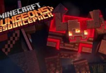 Redstone Monster Texture Pack 1.15.2 - Minecraft Dungeons Texture Pack