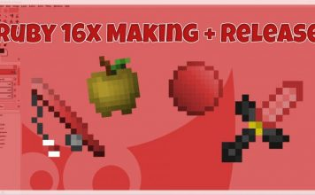 Ruby 16X PvP Texture Pack 1.8.9